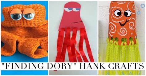 finding dory hank  septopus crafts