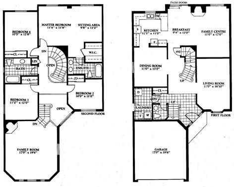 floor plans pdf 4474 tavistock court for sale mississauga erin mills cul de sac detached home 4 bedroom