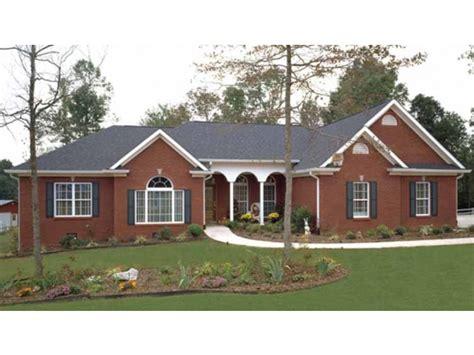 ranch house plans brick vector picture brick ranch house plans