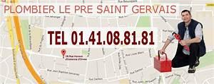 Plombier Le Mesnil Saint Denis : plombier le pr saint gervais plombier le pr saint ~ Premium-room.com Idées de Décoration