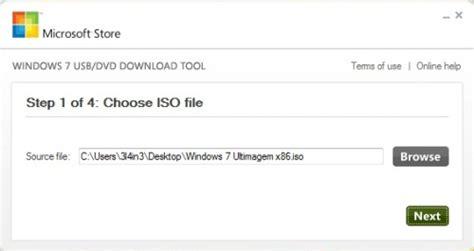 baixar arquivo iso do windows para usb bootable
