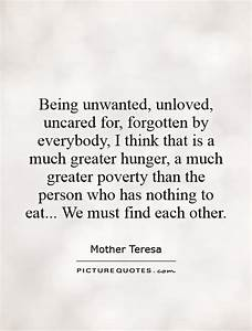 Feeling Unloved By Family Quotes. QuotesGram