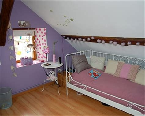 chambre bébé sous pente deco chambre fille sous pente visuel 3
