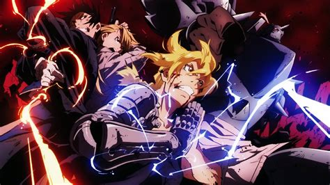 anime fight full fullmetal alchemist hd wallpapers wallpaper cave