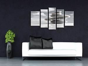 Tableau Deco Chambre : tableau zen dans un bureau hexoa ~ Teatrodelosmanantiales.com Idées de Décoration