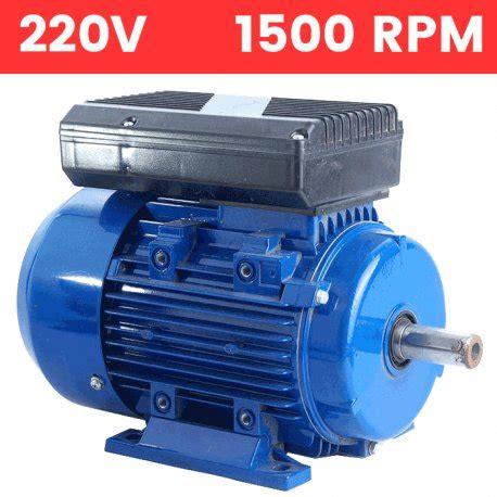 Motor 220v 1500 Rpm by Motor El 233 Ctrico Monof 225 Sico As 237 Ncrono 220v 0 09 Kw 0 12