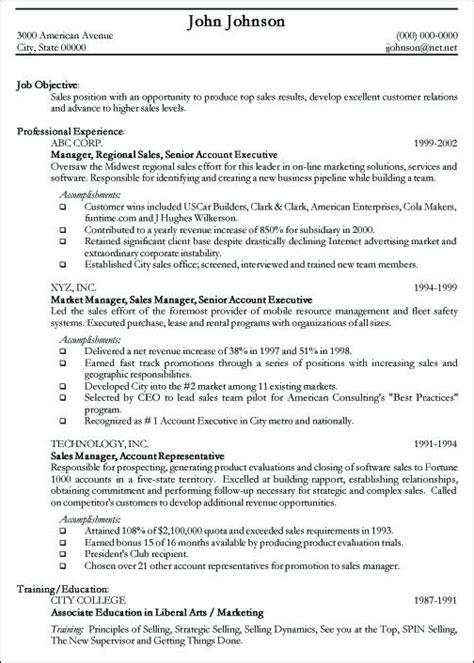 professional resume sample  sample curriculum vitae