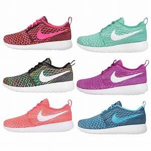 Nike Wmns Rosherun Flyknit Womens Running Casual Shoes ...