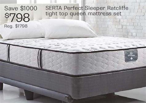 Serta Perfect Sleeper Ratcliffe Tight Top Queen Mattress