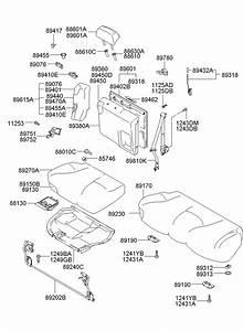 2005 Hyundai Elantra Bolt  Stabilizerfront  Rrdoublefoldg