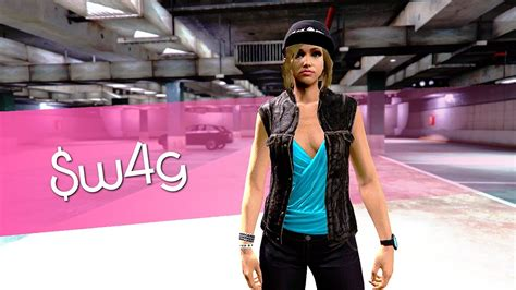 GTA 5 Female Outfit Showcase u3010Swagu3011#120 - YouTube