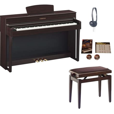 yamaha clp 635 yamaha clp 635 clavinova digital piano rosewood package from rimmers