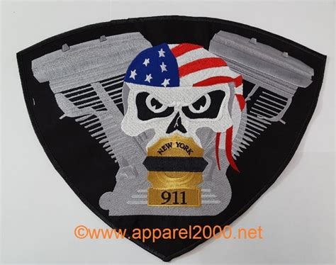 Custom Motorcycle Patches
