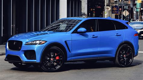 Fittingly, we've given it 8 out of 10 points for style the inconspicuous black buttons on the dash all look the same at first glance, so it can be distracting to find one until you've memorized their positions. Jaguar F-Pace SVR (2019-2020) цена и характеристики ...