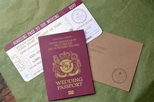passport travel wedding invitation With passport wedding invitations with boarding pass rsvp