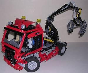 Lego Technic Camion : review lego technic 8436 camion bras ~ Nature-et-papiers.com Idées de Décoration