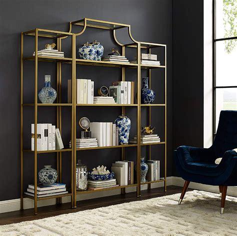 crosley furniture aimee etagere bookcase