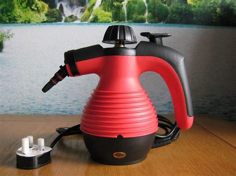 Electric Upholstery Cleaner by Electric Steam Cleaner Portable Held Powerfull With