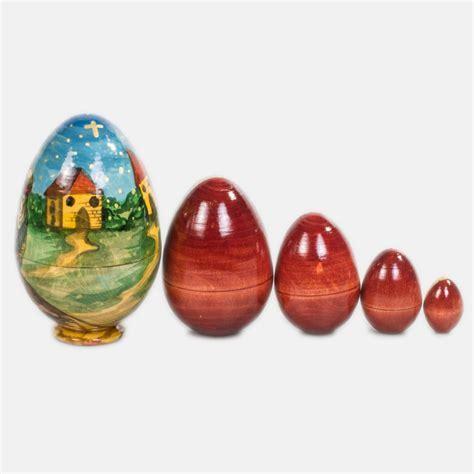 Egg With The Savior Nesting Doll   Product sku S 144393