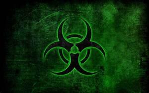 Green Biohazard Symbol | Biohazard symbol wallpaper ...