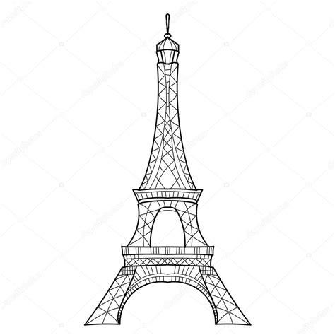 eiffel tower sketch drawing  getdrawings