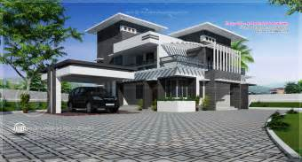 contempory house plans contemporary home design in 2491 sq kerala home design and floor plans