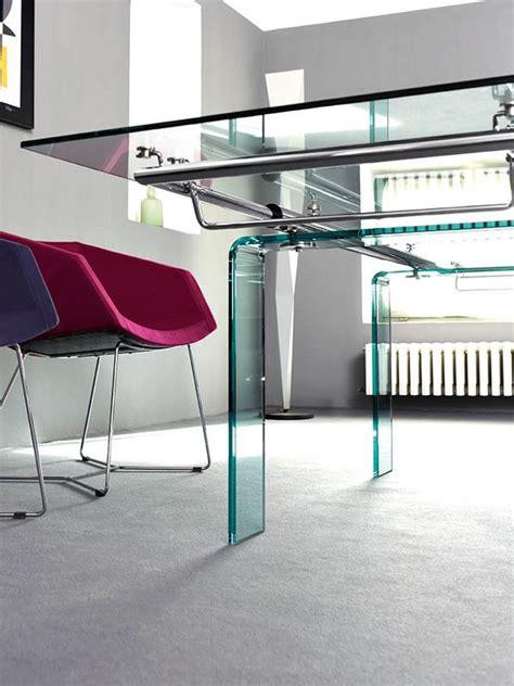 tisch aus glas mambo tisch midj gestell aus metall oder glas glasplatte 140 x 85 cm verl 228 ngerbar sediarreda