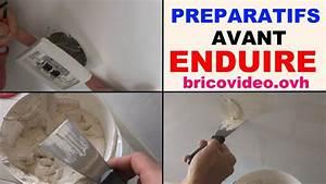 Enduit De Lissage Placo : enduire un mur int rieur les pr paratifs pourquoi enduire ~ Dailycaller-alerts.com Idées de Décoration
