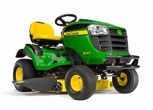 John Deere S240 Lawn Tractor Maintenance Guide  U0026 Parts List