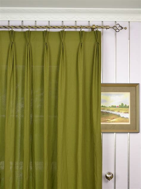 shades beautiful curtain design  pinch pleat sheers