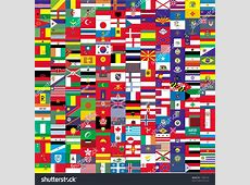 Big Flag Small Flags Stock Vector 17665792 Shutterstock