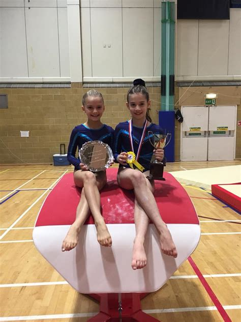 category girls squad woking gymnastics club