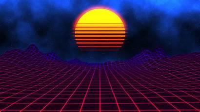 Neon Sunset Wallpapers Engine Retro Pc Rome