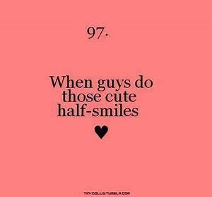 When guys do those cute | Things boys do that I love ...