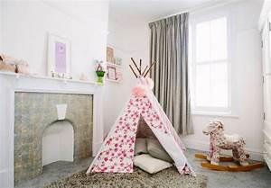 Tente Chambre Fille : tipi indien pour d co de chambre d 39 enfant ~ Teatrodelosmanantiales.com Idées de Décoration