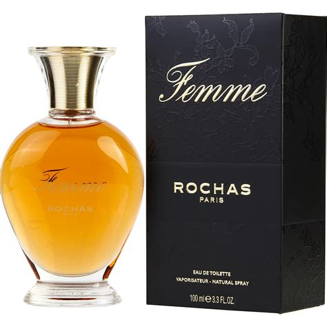femme rochas eau de toilette for by rochas fragrancenet 174