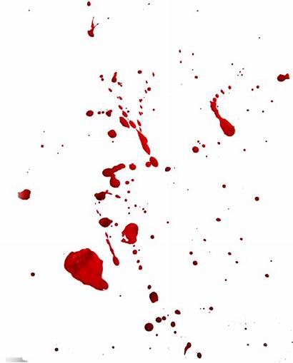 Blood Splatter Effect Transparent Drip Take Cut