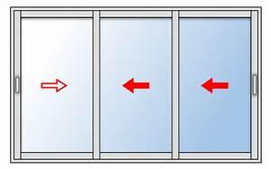 Dimension Baie Coulissante 2 Vantaux : baie coulissante aluminium 3 vantaux ~ Melissatoandfro.com Idées de Décoration