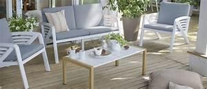 Salon Detente Jardin : salon de jardin sunday grosfillex ~ Premium-room.com Idées de Décoration