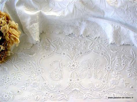 linge ancien de blanc textiles anciens dentelles anciennes