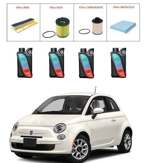 Fiat 500 Quality by Kit Tagliando Per Fiat 500 1 3 Multijet Premium Quality