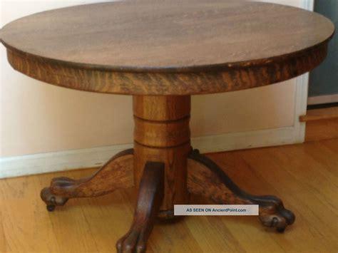 vintage claw foot table evaboereks june 2015