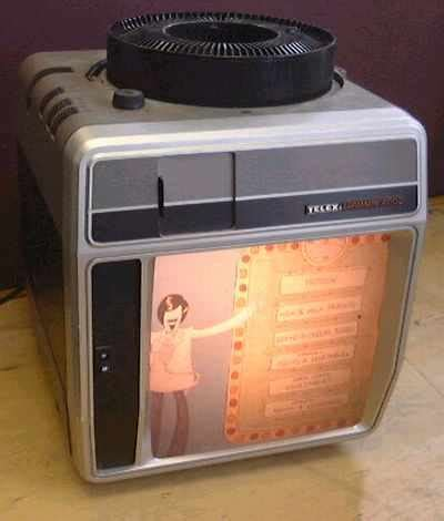 telex caramate  portable  projector viewer