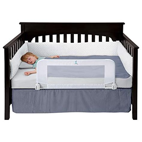 bed rail toddler guard rails safety crib reinforced hiccapop convertible anchor