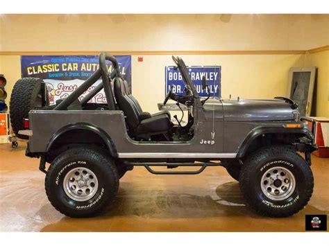cj jeep wrangler 1986 jeep cj7 for sale classiccars com cc 981926