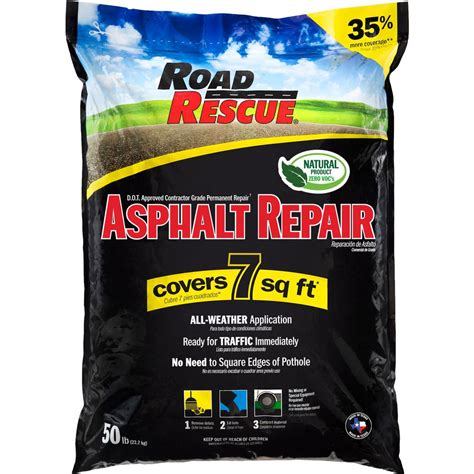 road rescue  lbs asphalt repair ap   home depot