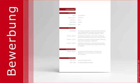 lebenslauf layout als bewerbungsvorlage mit anschreiben