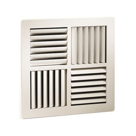 silver ceiling fan square multi directional air conditioning vent 360mm