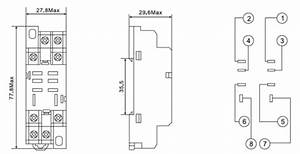 8 Pin Relay Base Diagram  Ptf08a   U2013 Ontium Corp