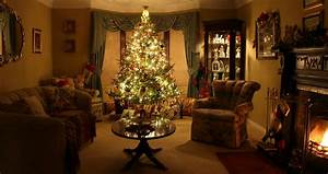 Gorgeous Christmas Living Room With Christmas In The ...